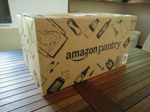 Esterno scatola Amazon Pantry