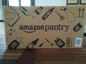 Nuovi disegni scatola Amazon Pantry