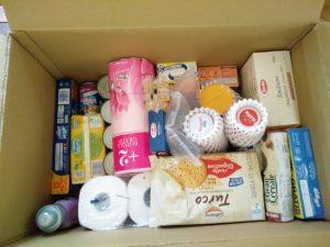 Alcuni prodotti della spesa pantry