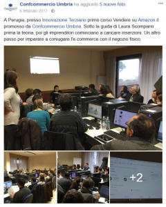 Post Facebook Confcommercio Perugia